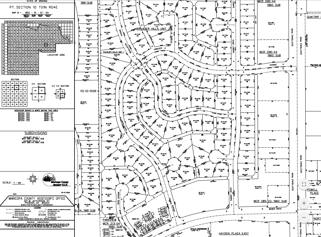 Maricopa County Assessor Maps Parcel Viewer Help